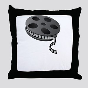 Keep Movie Reel Throw Pillow